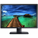 Monitor Dell U2412MLED, 24 inch, Wide, DisplayPort, DVI, Negru