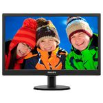Monitor Philips 203V5LSB26 LED, 19.5 inch, Negru