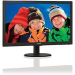 Monitor Philips 243V5LSB/00, 23.6 inch, 5ms, Negru