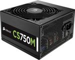 Sursa Corsair CS750M, 750 W, Eficienta 92 %