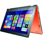 Laptop Lenovo 59-431653, Intel Core i5, 8 GB, 256 GB SSD, Windows 8.1, Portocaliu