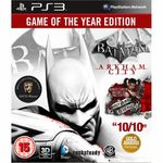 Joc Warner Bros. Batman Arkham City GOTY PS3