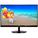 Monitor Philips 234E5QDAB/00, 23 inch, Wide, Full HD, VGA, DVI, Negru