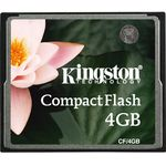 Card de memorie Kingston CF/4GB, 4 GB