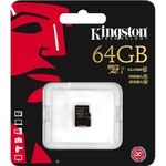 Card de memorie Kingston microSDXC 64GB, Class 10, UHS-I