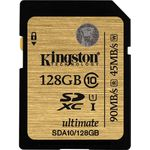Card de memorie Kingston SDXC UHS-I 128GB, Ultimate, Class 10, UHS-I