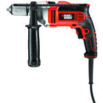 Black & Decker Masina de gaurit cu percutie, 750 W, 3100 RPM, 13 mm