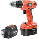 Black & Decker Masina de gaurit si insurubat cu 2 acumulatori Black & Decker EPC14CAB, 14.4V, 1Nm, 0-750 RPM