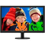 Monitor Philips 273V5LHAB/00, LED, 27 inch, Full HD, 5 ms, VGA, Negru