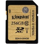 Card de memorie Kingston SDXC UHS-I 256GB, Ultimate, Class 10, UHS-I