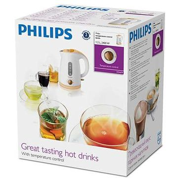 Fierbator Philips HD4678/70, 2400 W, 1.2 L, Alb