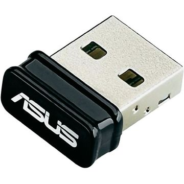 Adaptor wireless Asus USB-N10 NANO, 2.4 Ghz, 150 Mbps