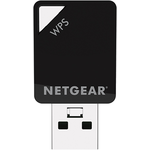 Adaptor wireless NetGear A6100-100PES, Dual-band, 433/150Mbps, USB2.0
