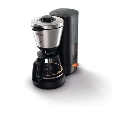 Cafetiera Philips HD7696/90, Anti-picurare, Negru / Inox
