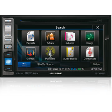 Alpine IVE-W585BT, 6.1 inch, Bluetooth, Negru