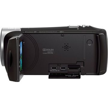 Camera video Sony HDRPJ410B.CEN, Full HD, Negru