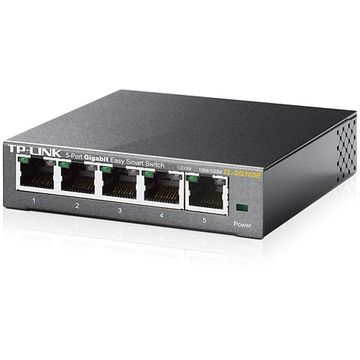 Switch TP-Link TL-SG105E, 5 porturi Gigabit, Desktop