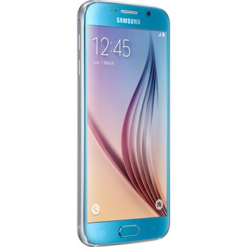 Telefon mobil Samsung Galaxy S6 G920 LTE, 128 GB, 4G, Camera 16 MP, Blue