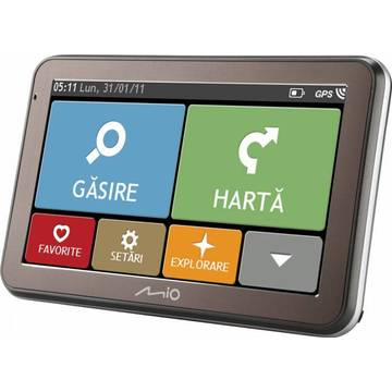 GPS Mio Spirit 7500 LM, 5 inch, Full Europe