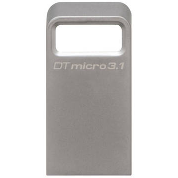 Memory stick Kingston DTMC3/64GB, 64GB, USB 3.1, Argintiu