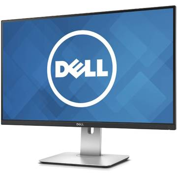 "Monitor Dell U2715H, 27"", UltraSharp, QHD, DisplayPort, HDMI, Negru"
