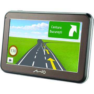 GPS Mio Spirit 5100 Base Map, diagonala 4.3 inch