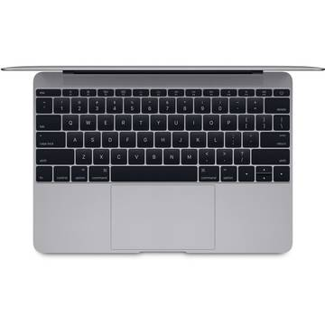 Laptop Apple MacBook 12, procesor Intel Dual Core M 1.20GHz, Broadwell, 12 inch, Ecran Retina, 8GB, 512GB SSD, Intel HD Graphics 5300, OS X Yosemite, INT KB, Space Grey