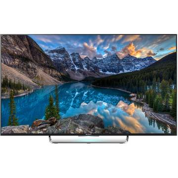 Televizor Sony Bravia 55W808, Smart Android, 3D, LED, 139 cm, Full HD