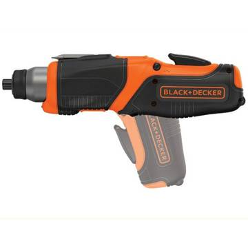 Surubelnita electrica Black&Decker CS3653LC, 3.6V Li Ion, 1,5Ah, 6Nm, 180 RPM, Led, Micro usb si indicator incarcare