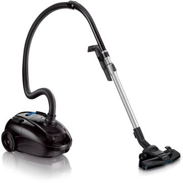 Aspirator Philips PowerLife FC8458/91, 3 l, Tub telescopic, 1500 W, Negru
