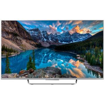 Televizor Sony Bravia KDL-55W807CSAEP, 139 cm, Full HD, cu Android TV, Negru