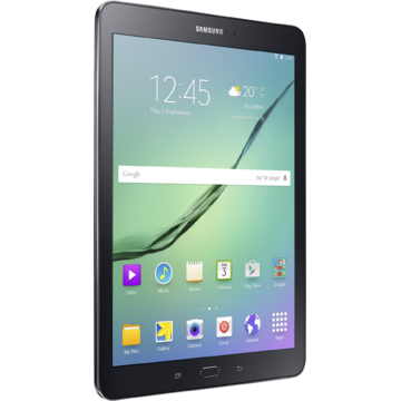 "Tableta Samsung Tab S2 T710 Octa-Core™ 1.9 GHz, 8"", 3GB RAM, 32GB, Wi-Fi, Bluetooth 4.1, GPS, Android v5.0.2 Lollipop, Negru"