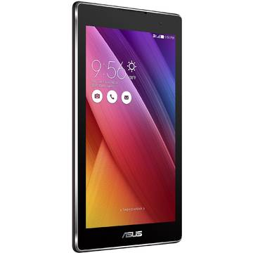 Tableta Asus ZenPad C 7.0 Z170C-1A038A, procesor Intel Atom x3-C3200 Quad-Core 1.1GHz, 7 inch, IPS, 1 GB RAM, 16 GB, Wi-Fi, Bluetooth 4.0, Android 5.0 Lollipop, Negru