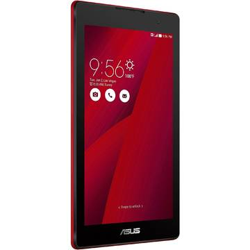 Tableta Asus ZenPad C 7.0 Z170C-1C027A, procesor Intel Atom x3-C3200 Quad-Core 1.1GHz, 7 inch, IPS, 1 GB RAM, 16 GB, Wi-Fi, Bluetooth 4.0, Android 5.0 Lollipop, Rosu