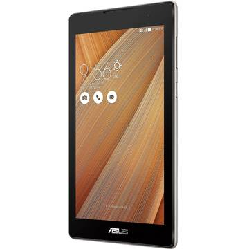Tableta Asus ZenPad C 7.0 Z170C-1L037A, procesor Intel Atom x3-C3200 Quad-Core 1.1GHz, 7 inch, IPS, 1 GB RAM, 16 GB, Wi-Fi, Bluetooth 4.0, Android 5.0 Lollipop, Metallic