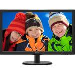 Monitor Philips 223V5LHSB2/00, 21.5 inch, Wide, Full HD, HDMI, Negru
