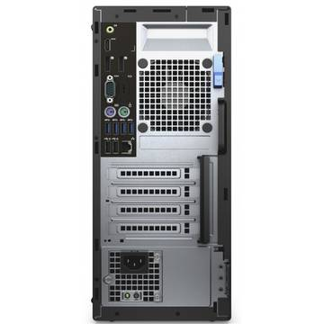 Sistem desktop Dell OptiPlex 5040 MT, Intel Core i5-6500, 4 GB, 500 GB, Microsoft Windows 7 Pro + Microsoft Windows 10 Pro