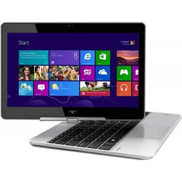 Laptop HP L4B32AW, Intel Core i5, 8 GB, 256 GB SSD, Microsoft Windows 8.1 Pro, Argintiu