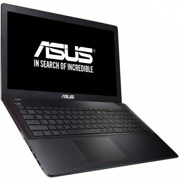 Laptop Asus F550JX-DM247D, Intel Core i7, 8 GB, 1 TB, Free DOS, Negru