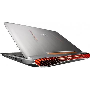 Laptop Asus G752VY-GC179T, Intel Core i7, 24 GB, 1 TB + 128 GB SSD, Microsoft Windows 10, Gri
