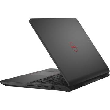"Laptop Dell Inspiron 7559, 15.6"", Intel® Core™ i7-6700HQ 2.60GHz, Skylake™, Full HD, 8GB, 1TB + 8GB SSHD, nVidia GeForce GTX 960M 4GB, Windows 10 Home, Negru, DI7559I781T960W10"