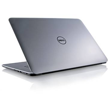 "Laptop Dell XPS 9550, 15.6"", Intel Core i5, 8 GB, 1 TB + 32 GB SSD, Microsoft Windows 10 Home, Argintiu, DXPS9550I581TGTW10"
