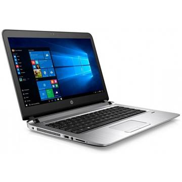 Laptop HP Probook 440 G3, 14'', HD, Intel® Core™ i3-6100U, 4GB, 128GB SSD, GMA HD 520, FingerPrint Reader, Win 7 Pro + Win 10 Pro, Gri, P5S06EA