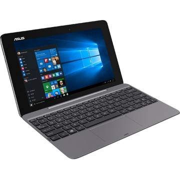 "Laptop Asus 2-in-1, 10.1"", Transformer Book T100HA, WXGA Touch, Intel® Atom™ x5-Z8500 1.44GHz Cherry Trail, 2GB, 128GB eMMC, GMA HD, Win 10, Asteroid Grey, T100HA-FU003T"