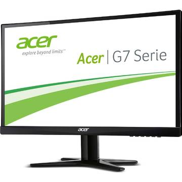 Monitor Acer UM.WG7EE.A06, 21.5 inch, 4 ms, Full HD, Negru