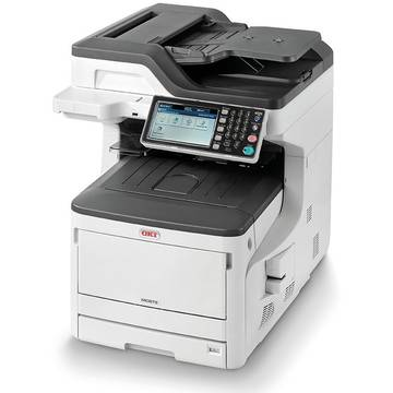 Multifunctional OKI MC873dn, A3, Color, Laser, Alb