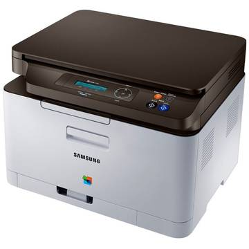Multifunctional Samsung SL-C480/SEE, A4, Color, Laser, Alb