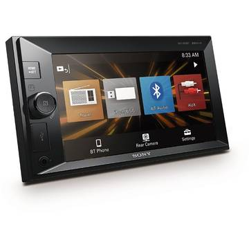 Player auto Sony XAVV630BT.EUR, 4 x 55 W, Bluetooth, Display touchscreen 6.2 inch