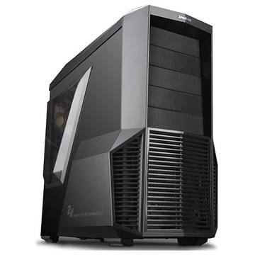 Carcasa ZALMAN Z11 PLUS, Middle Tower, ATX, mATX, Negru