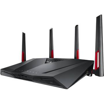 Router Asus RT-AC88U, 802.11 a/b/g/n/ac, 2.4 / 5 GHz, 1000 / 2167 Mbps